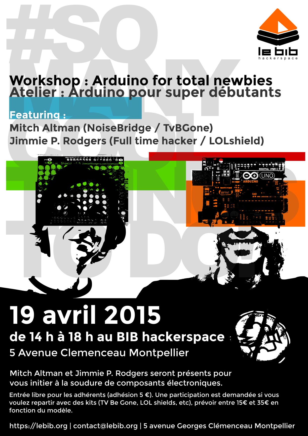 workshop arduino avril