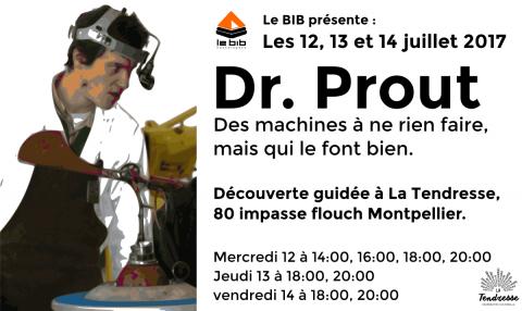 Flyer Dr. Prout au BIB